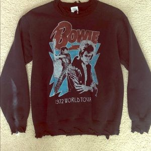 Bowie crewneck sweater